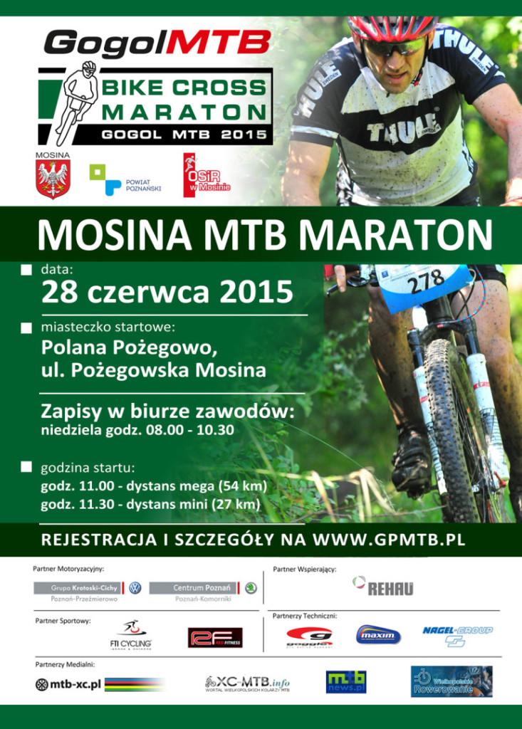 Bike Cross Maraton Gogol MTB Mosina plakat