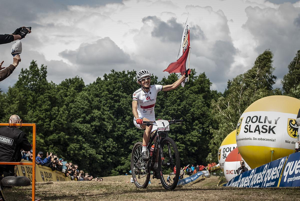 [PR] Maja Włoszczowska wygrywa wyścig w Jeleniej Górze!