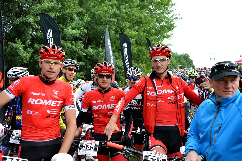 bartosz janowski romet racing puchar polski w maratonie mtb bike maraton jelenia góra 2015 start