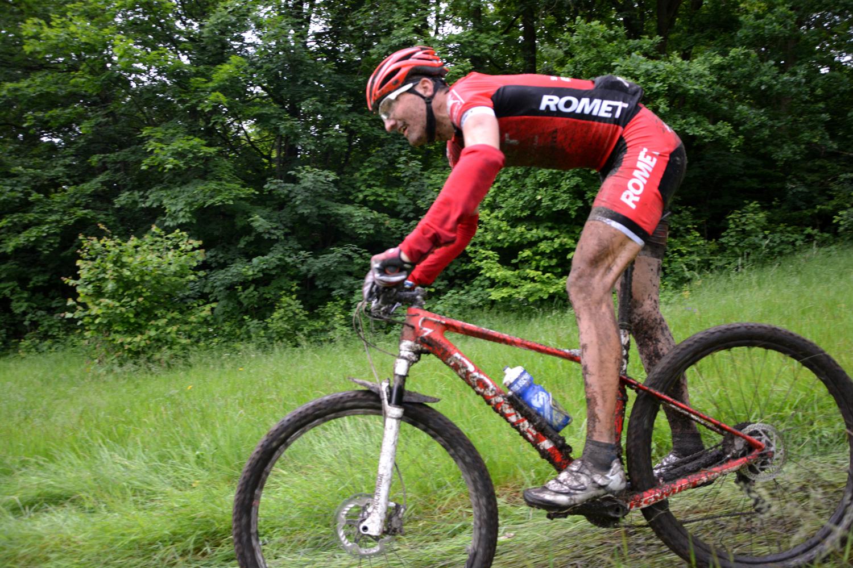 bartosz janowski romet racing puchar polski w maratonie mtb bike maraton jelenia góra 2015 zjazd