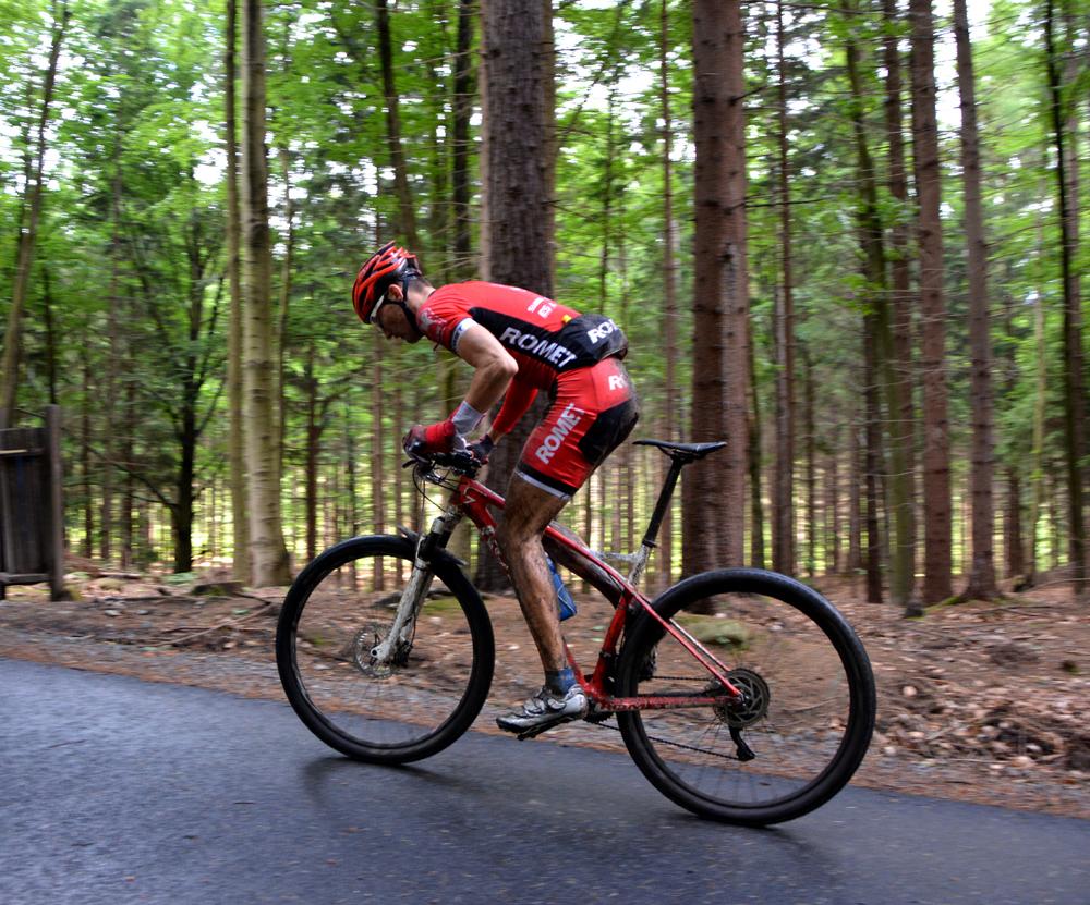 Bartosz Janowski (Romet Racing) – PP XCM – Jelenia Góra