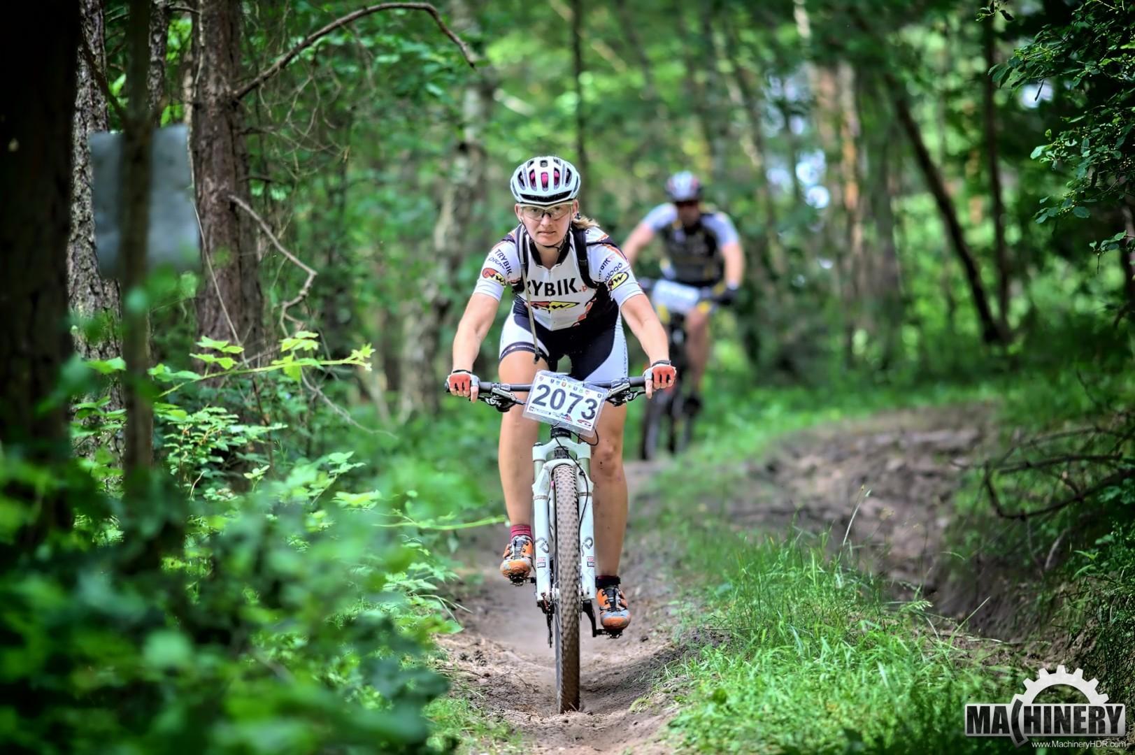 Magdalena Fejfer (Trybik Northwave) – MTB Cross Maraton (ŚLR) – Kielce