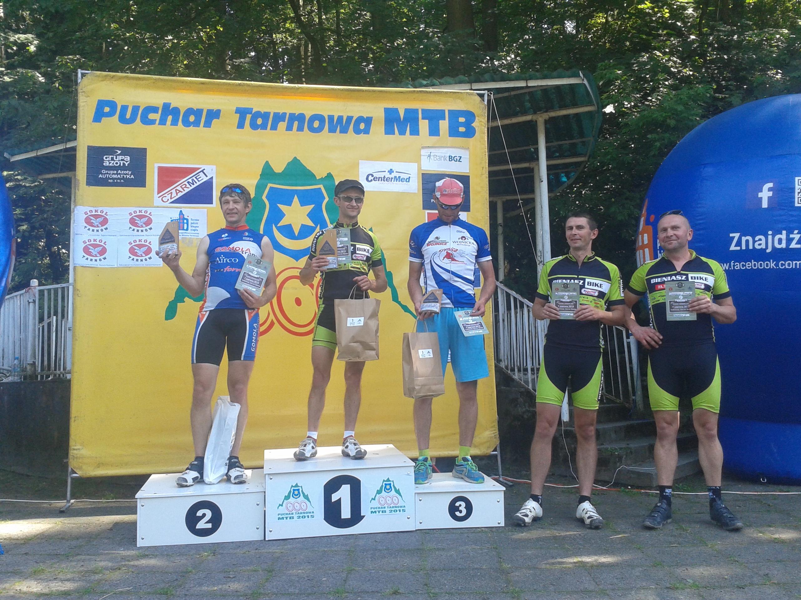 Piotr Zając (KCP Elzat Bieniasz Bike Górskie Orły Tarnów) – Puchar Tarnowa