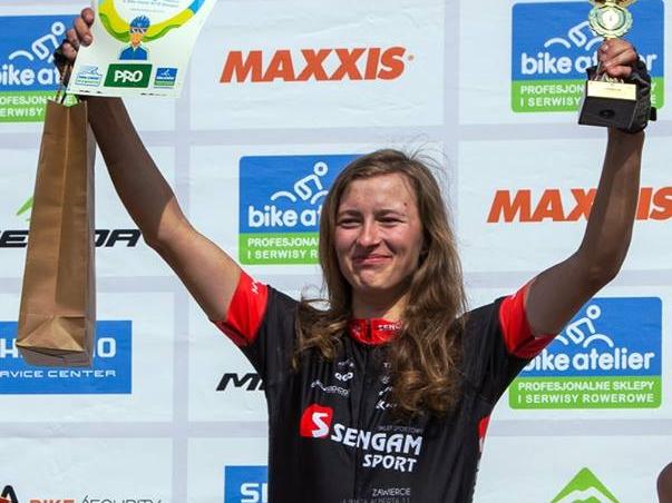 Anna Wajzer (Sengam Sport) – Bike Atelier MTB Maraton – Dąbrowa Górnicza