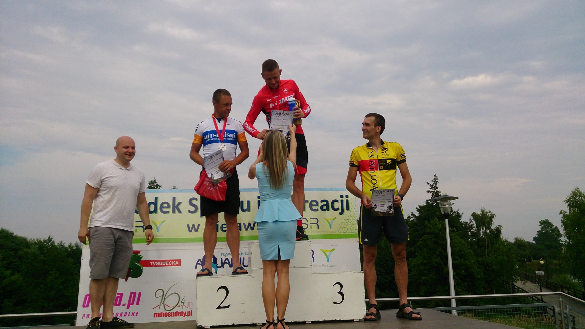 Dariusz Poroś (Romet MTB Team) – II Puchar Strefy MTB Sudety – Bielawa