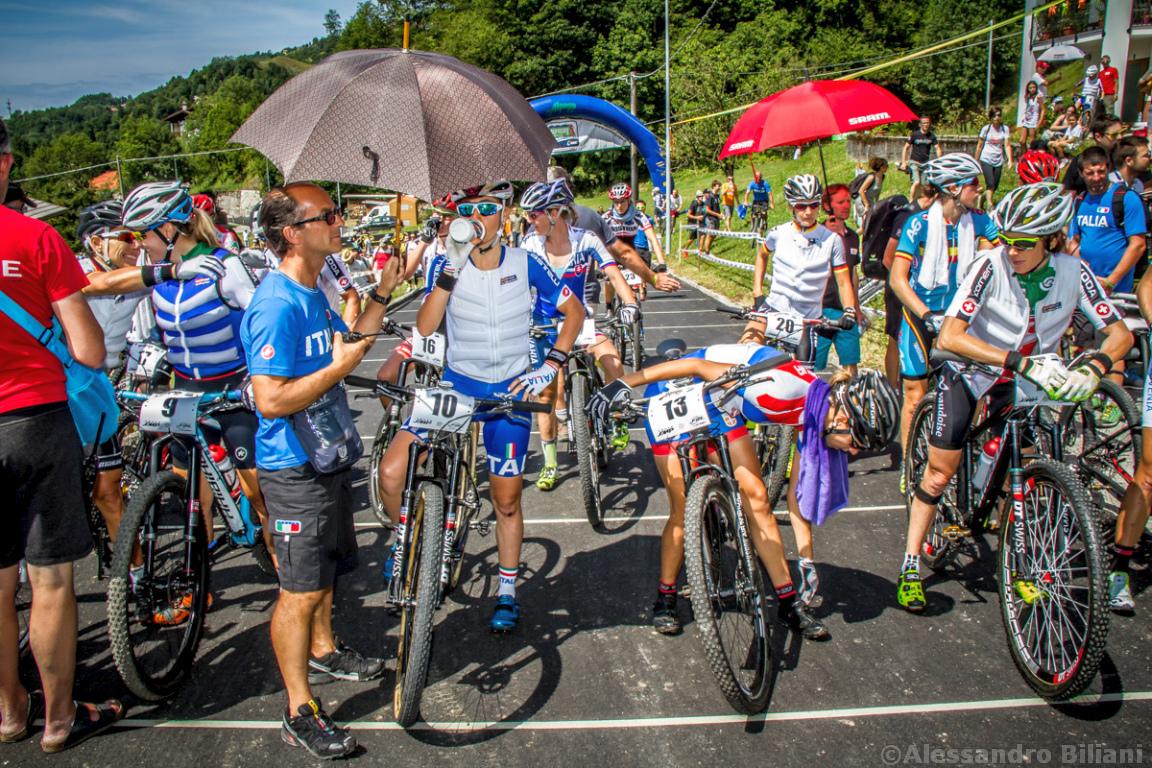 Mistrzostwa Europy MTB 2015 Chies d'Alpago Włochy elita kobiety 001