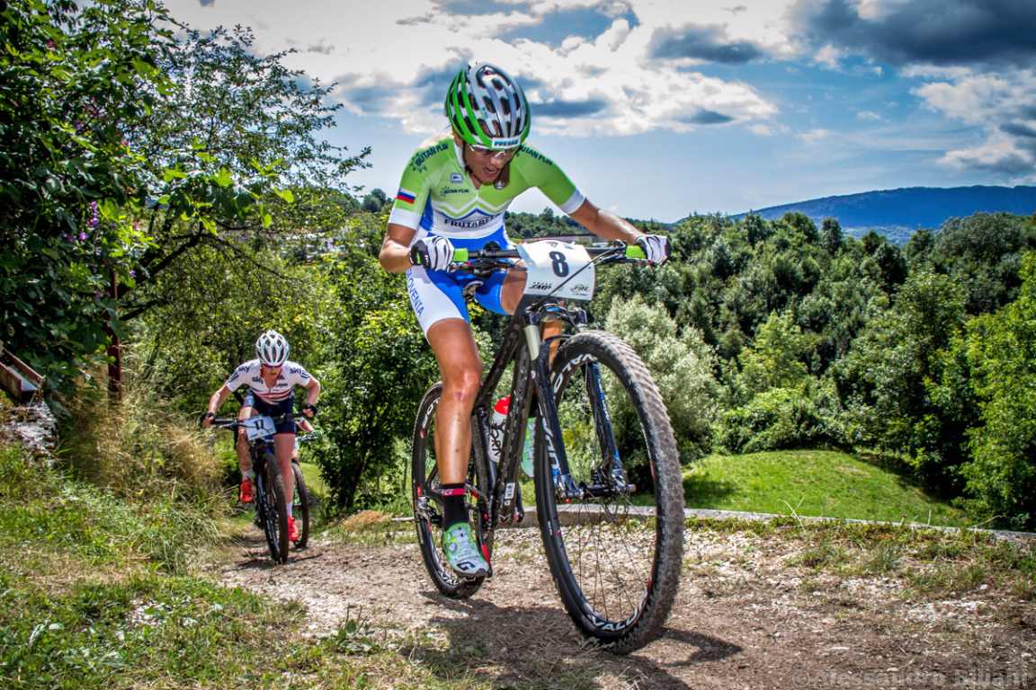 Mistrzostwa Europy MTB 2015 Chies d'Alpago Włochy elita kobiety 005