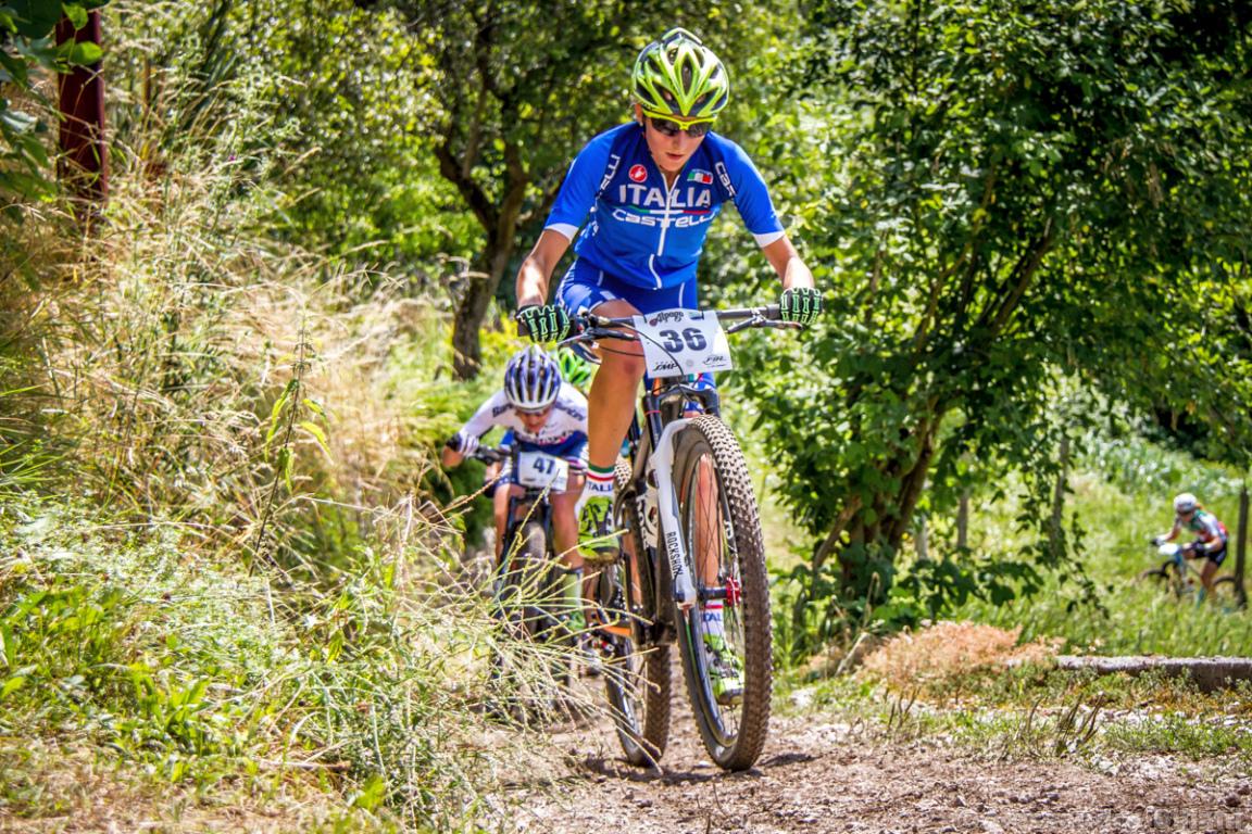 Mistrzostwa Europy MTB 2015 Chies d'Alpago Włochy elita kobiety 006