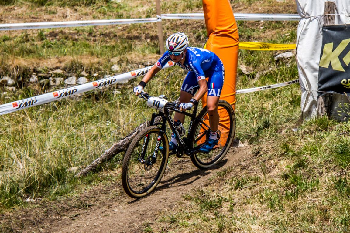 Mistrzostwa Europy MTB 2015 Chies d'Alpago Włochy elita kobiety 009