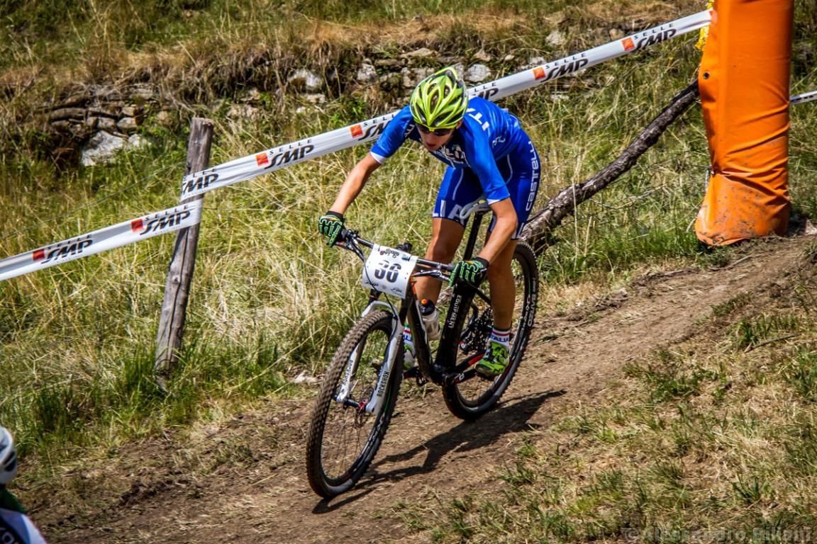 Mistrzostwa Europy MTB 2015 Chies d'Alpago Włochy elita kobiety 011