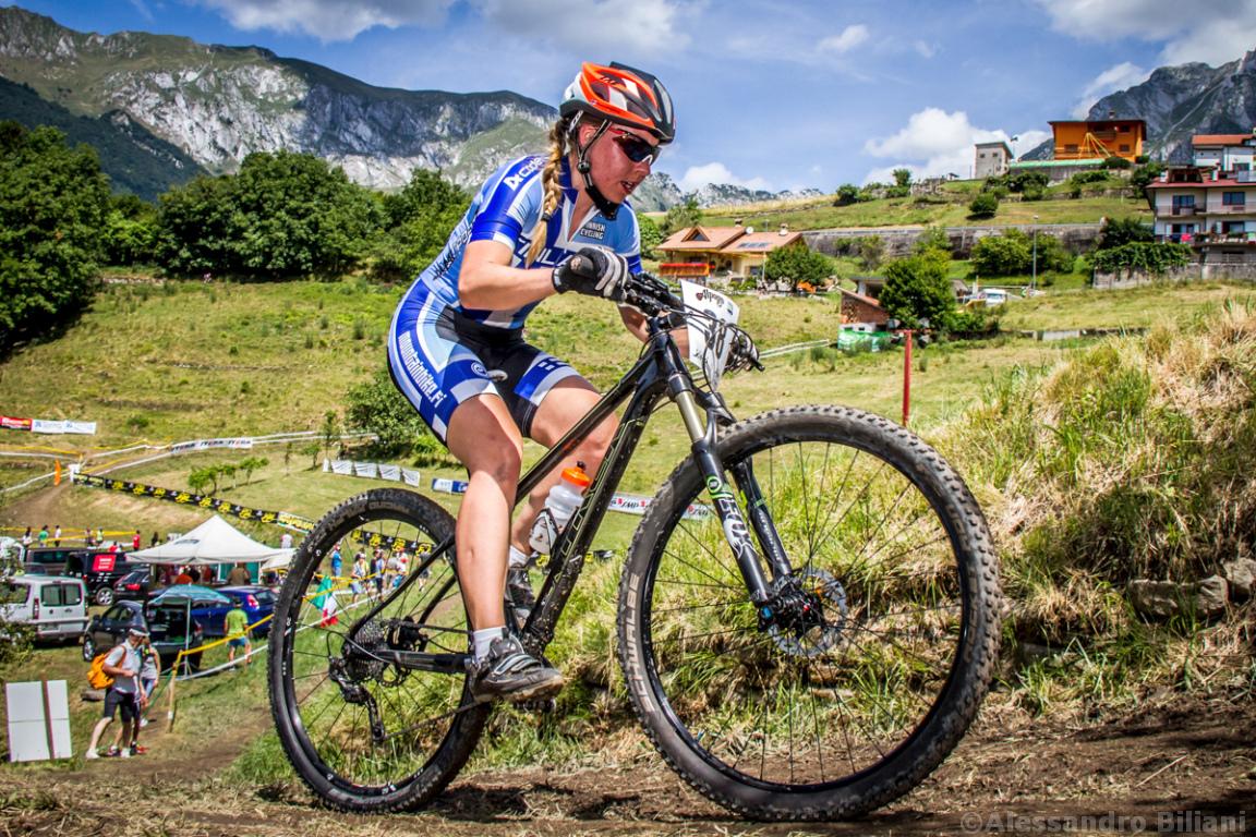 Mistrzostwa Europy MTB 2015 Chies d'Alpago Włochy elita kobiety 012