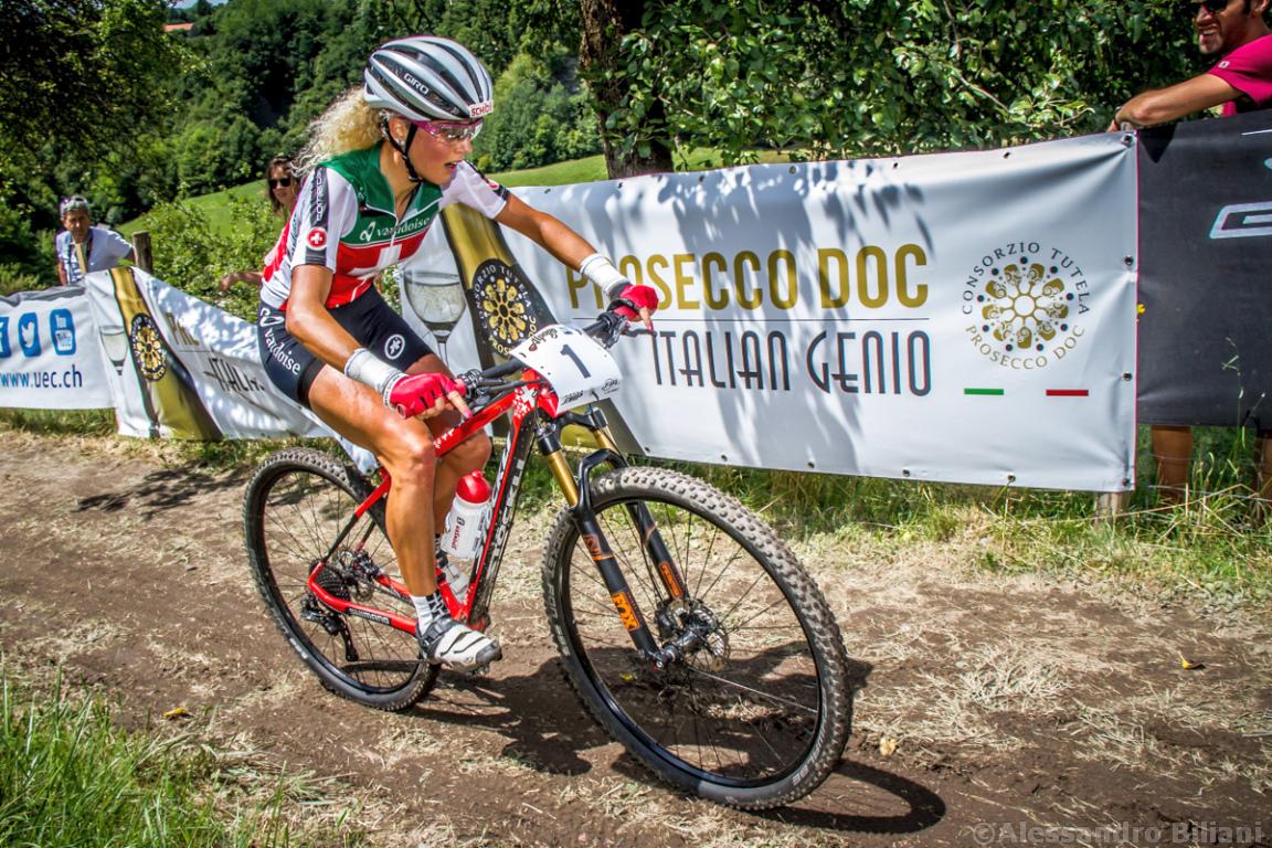 Mistrzostwa Europy MTB 2015 Chies d'Alpago Włochy elita kobiety 013