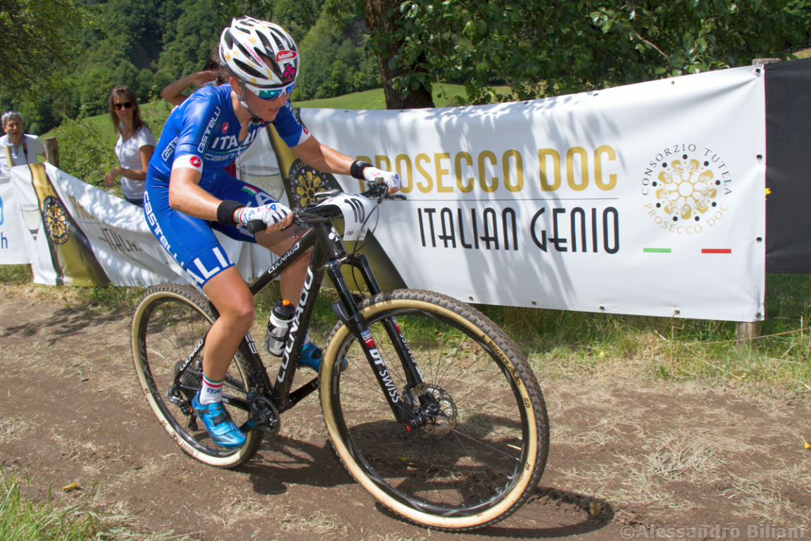 Mistrzostwa Europy MTB 2015 Chies d'Alpago Włochy elita kobiety 014