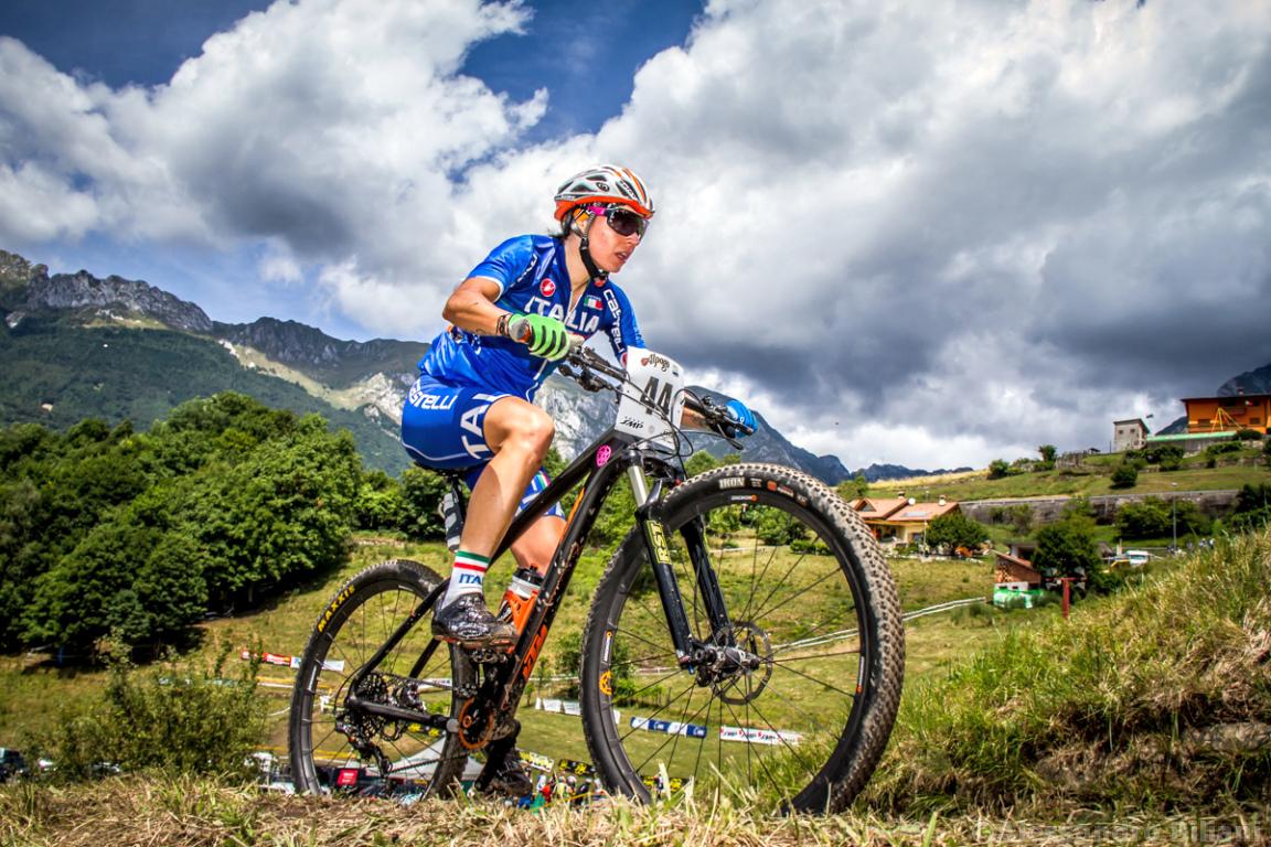 Mistrzostwa Europy MTB 2015 Chies d'Alpago Włochy elita kobiety 015