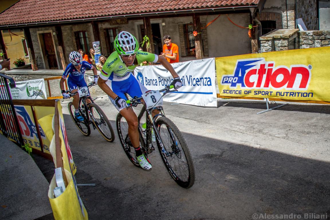 Mistrzostwa Europy MTB 2015 Chies d'Alpago Włochy elita kobiety 017