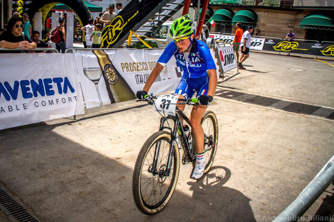 Mistrzostwa Europy MTB 2015 Chies d'Alpago Włochy elita kobiety 018