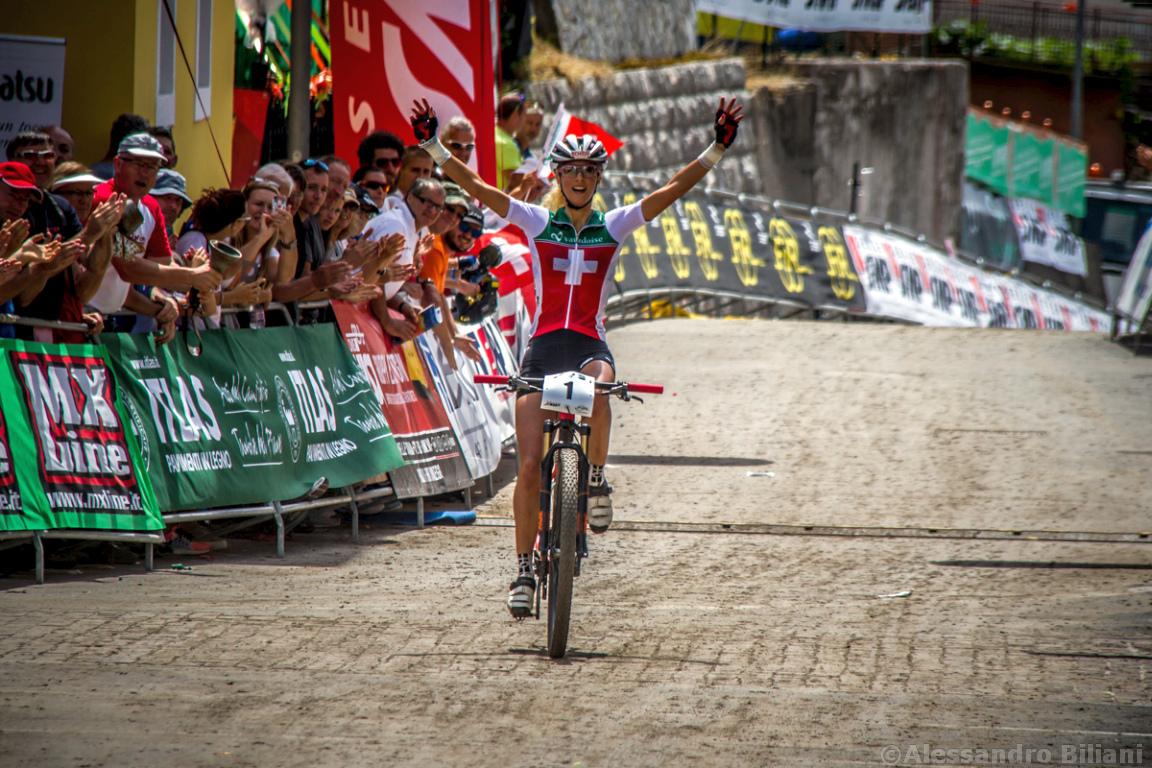 Mistrzostwa Europy w kolarstwie górskim 2015 – Chies d'Alpago, Włochy – elita kobiet [galeria]