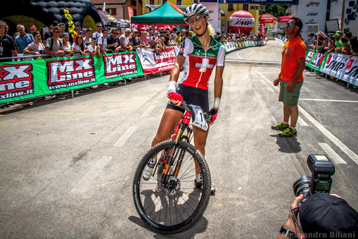 Mistrzostwa Europy MTB 2015 Chies d'Alpago Włochy elita kobiety 020