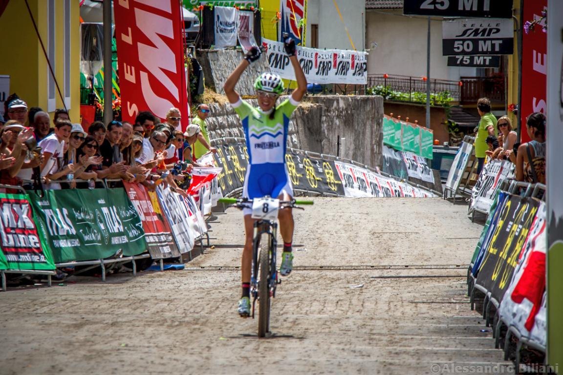 Mistrzostwa Europy MTB 2015 Chies d'Alpago Włochy elita kobiety 023