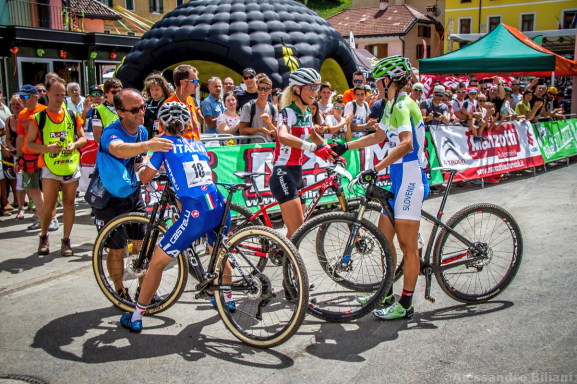 Mistrzostwa Europy MTB 2015 Chies d'Alpago Włochy elita kobiety 024