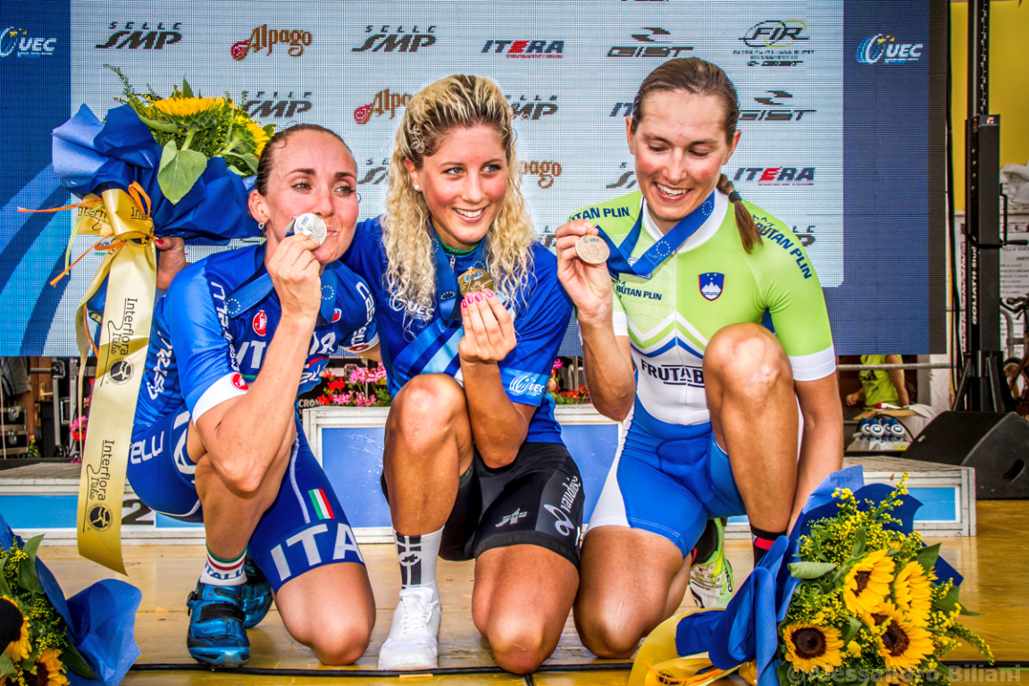 Mistrzostwa Europy MTB 2015 Chies d'Alpago Włochy elita kobiety 029