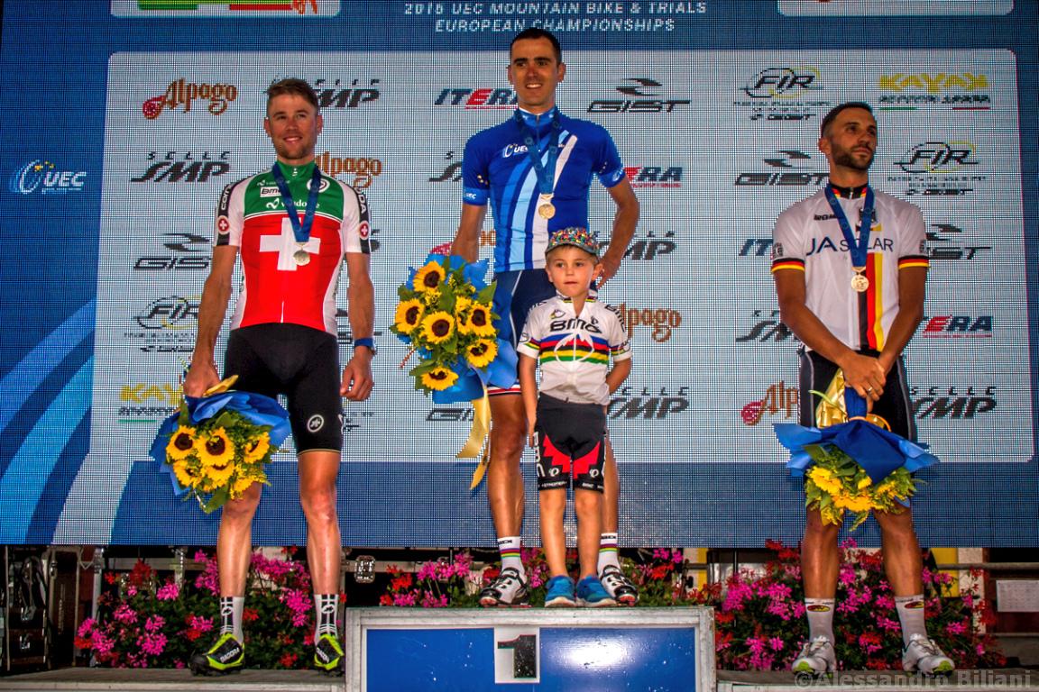 Mistrzostwa Europy w kolarstwie górskim 2015 – Chies d'Alpago, Włochy – elita mężczyzn [galeria]