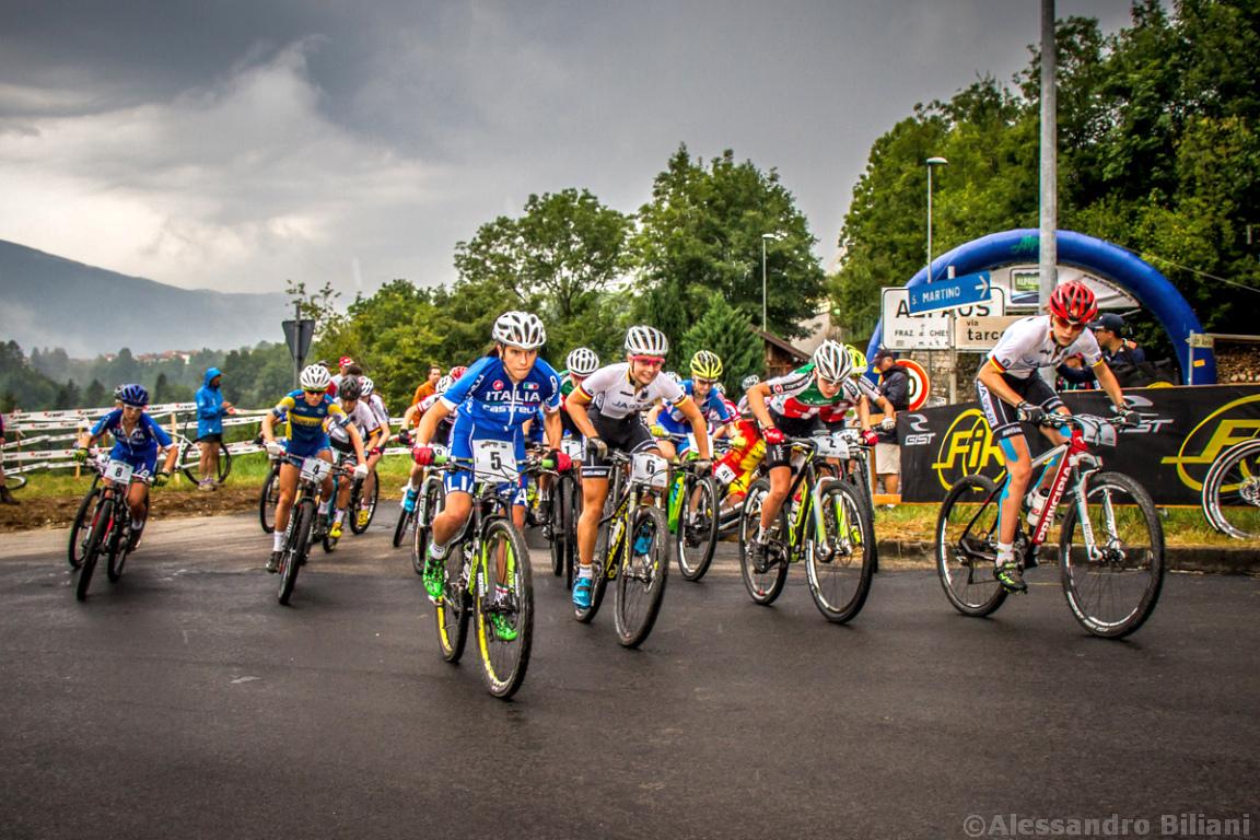 Mistrzostwa Europy MTB 2015 Chies d'Alpago Włochy juniorki 004