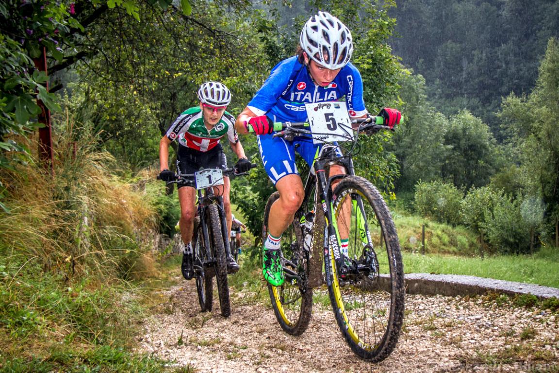Mistrzostwa Europy MTB 2015 Chies d'Alpago Włochy juniorki 006