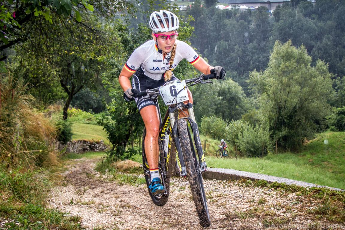 Mistrzostwa Europy MTB 2015 Chies d'Alpago Włochy juniorki 008