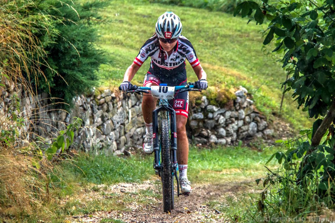 Mistrzostwa Europy MTB 2015 Chies d'Alpago Włochy juniorki 009