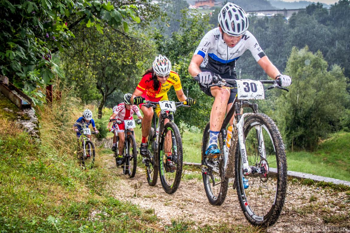Mistrzostwa Europy MTB 2015 Chies d'Alpago Włochy juniorki 010