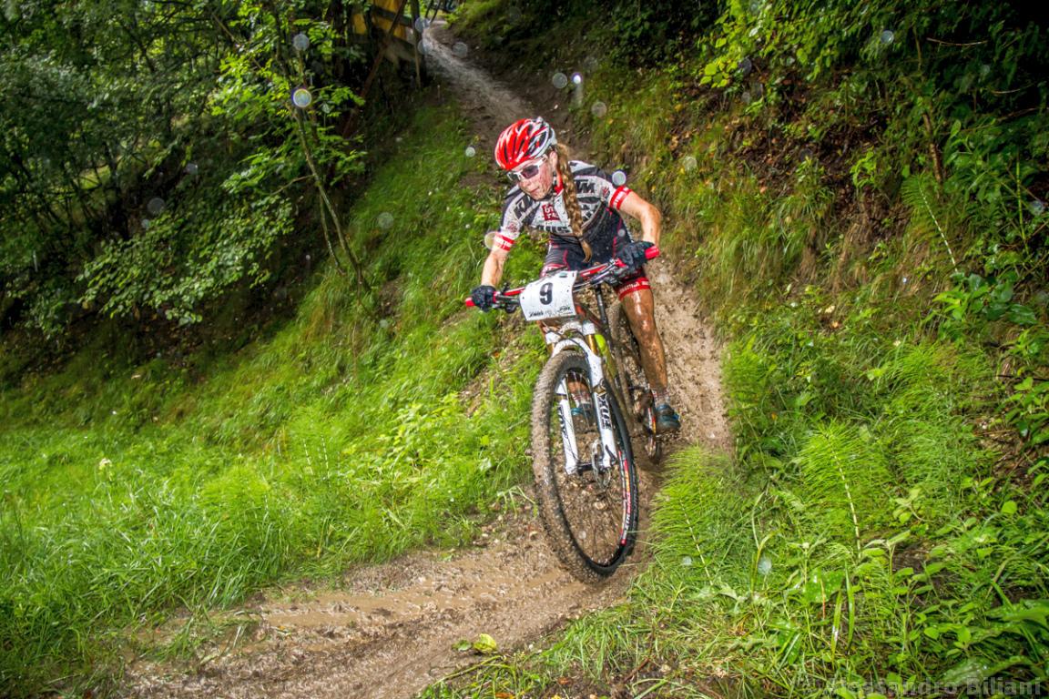 Mistrzostwa Europy MTB 2015 Chies d'Alpago Włochy juniorki 016