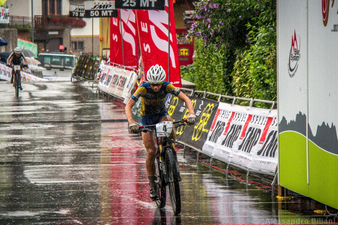 Mistrzostwa Europy MTB 2015 Chies d'Alpago Włochy juniorki 019