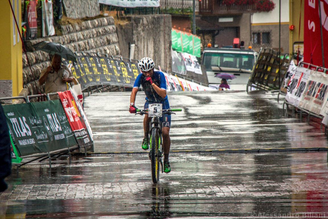 Mistrzostwa Europy MTB 2015 Chies d'Alpago Włochy juniorki 022