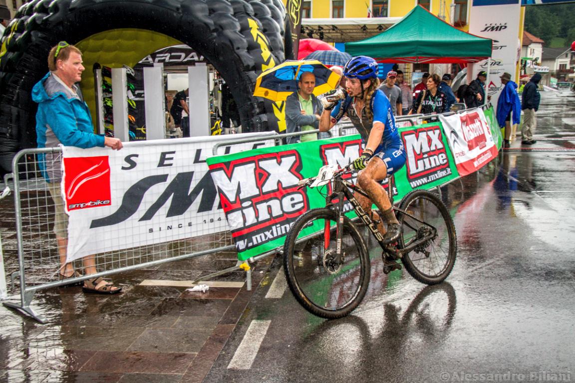 Mistrzostwa Europy MTB 2015 Chies d'Alpago Włochy juniorki 023