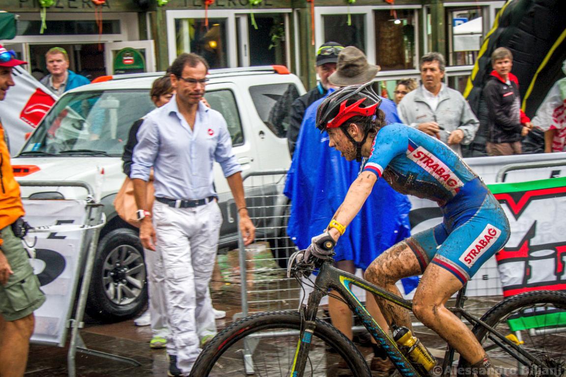 Mistrzostwa Europy MTB 2015 Chies d'Alpago Włochy juniorki 024