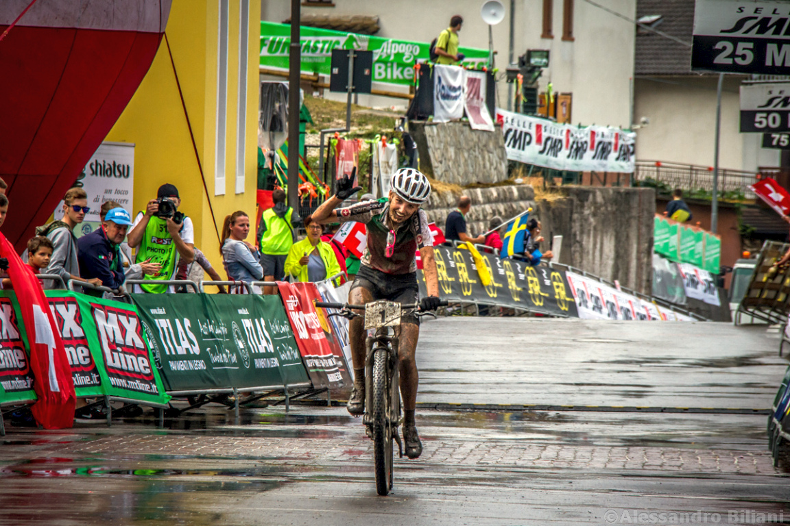 Mistrzostwa Europy MTB 2015 Chies d'Alpago Włochy juniorki 027
