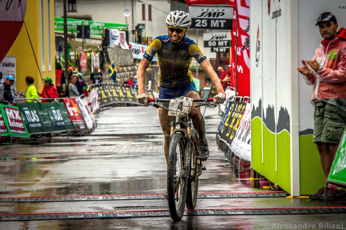 Mistrzostwa Europy MTB 2015 Chies d'Alpago Włochy juniorki 028