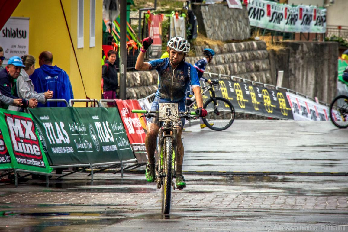 Mistrzostwa Europy MTB 2015 Chies d'Alpago Włochy juniorki 029