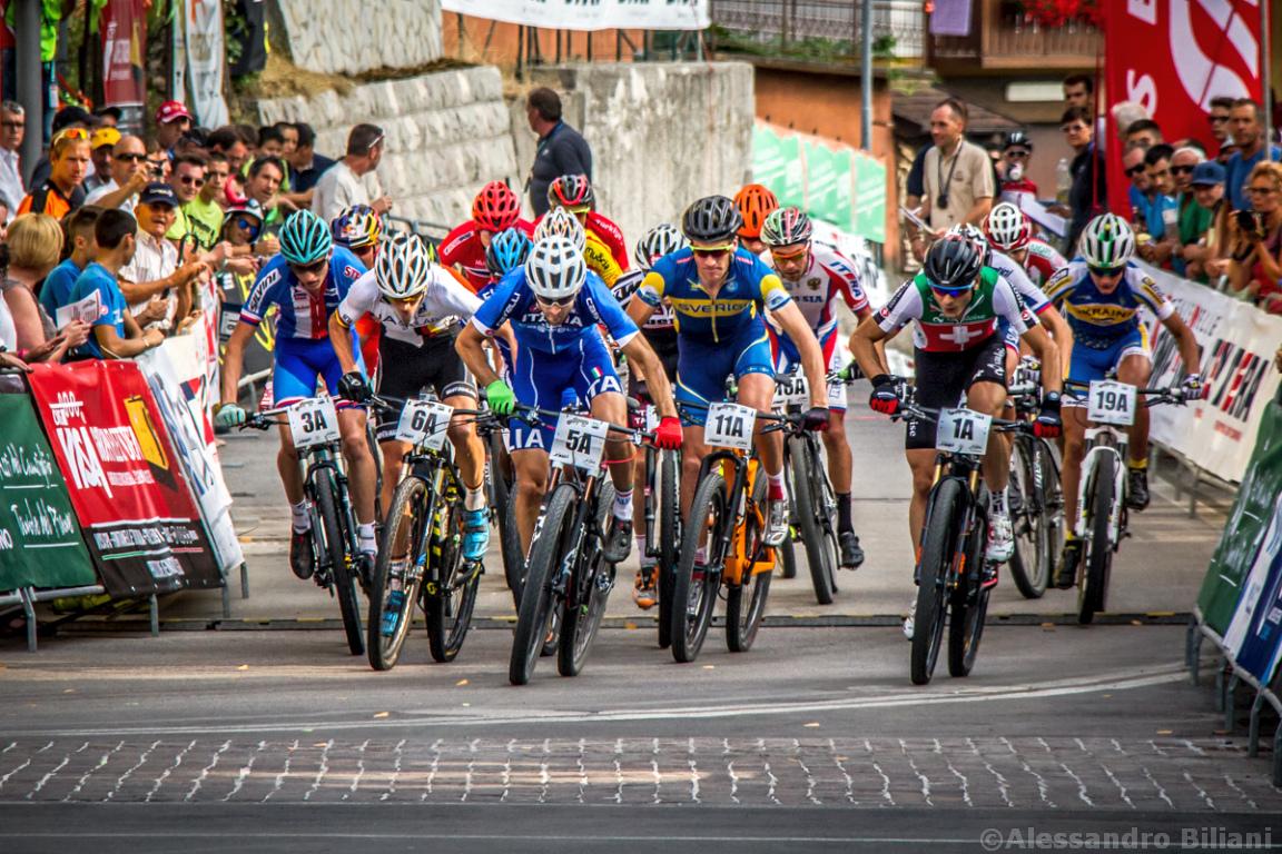 Mistrzostwa Europy MTB 2015 Chies d'Alpago Włochy szrtafeta 001