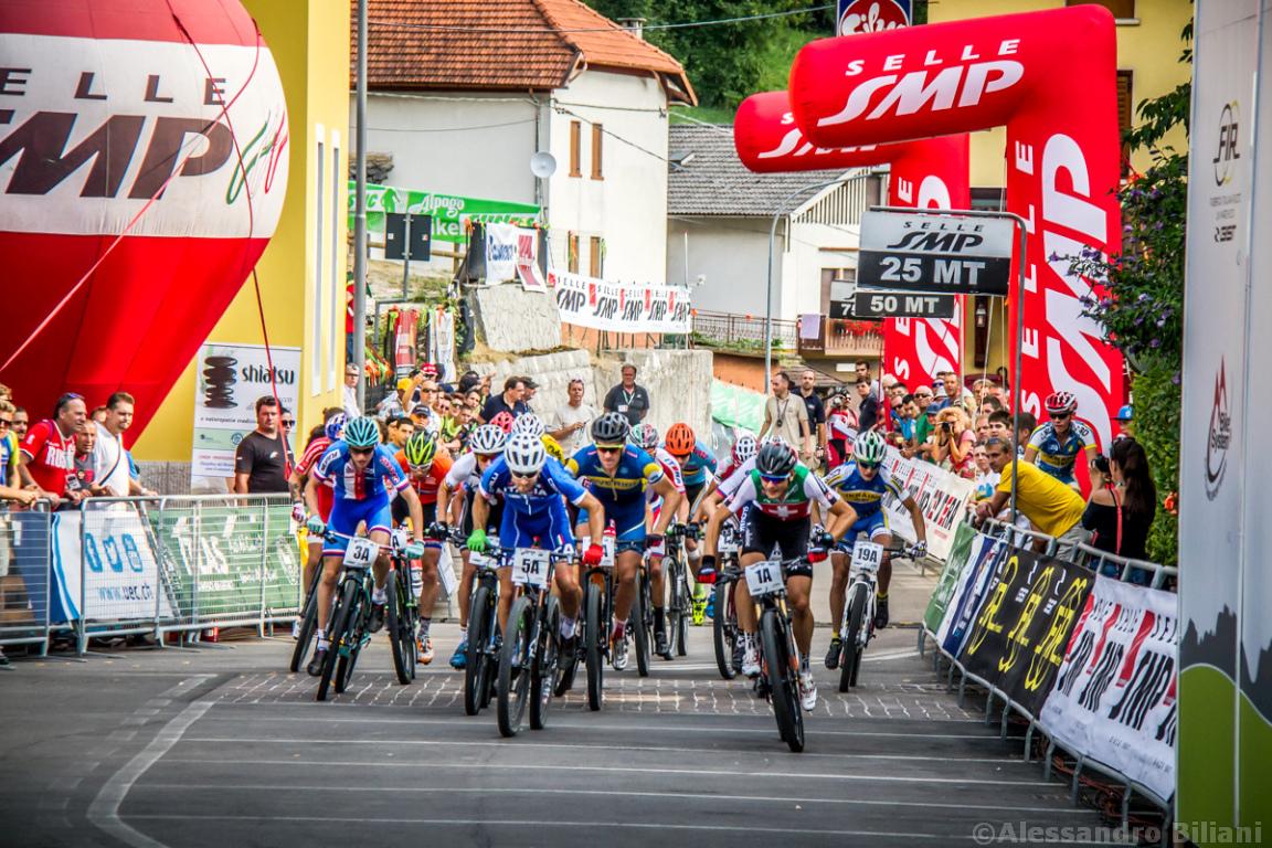 Mistrzostwa Europy MTB 2015 Chies d'Alpago Włochy szrtafeta 002