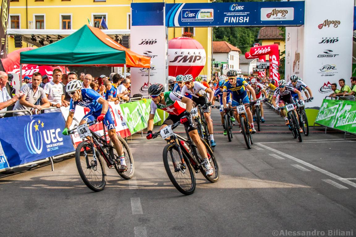 Mistrzostwa Europy MTB 2015 Chies d'Alpago Włochy szrtafeta 003