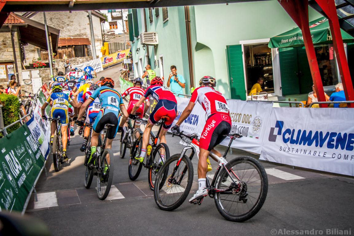 Mistrzostwa Europy MTB 2015 Chies d'Alpago Włochy szrtafeta 004