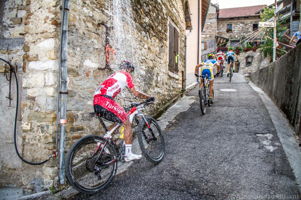 Mistrzostwa Europy MTB 2015 Chies d'Alpago Włochy szrtafeta 006