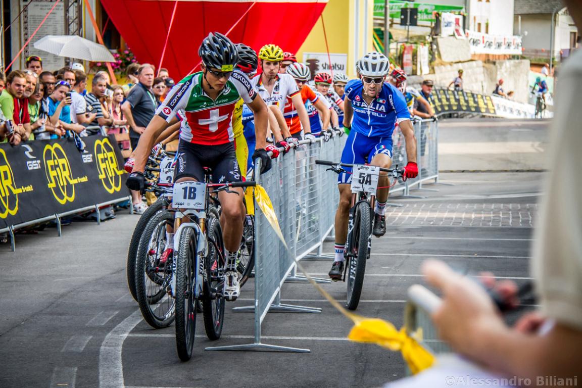 Mistrzostwa Europy MTB 2015 Chies d'Alpago Włochy szrtafeta 011