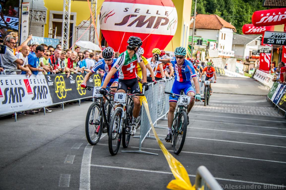 Mistrzostwa Europy MTB 2015 Chies d'Alpago Włochy szrtafeta 012
