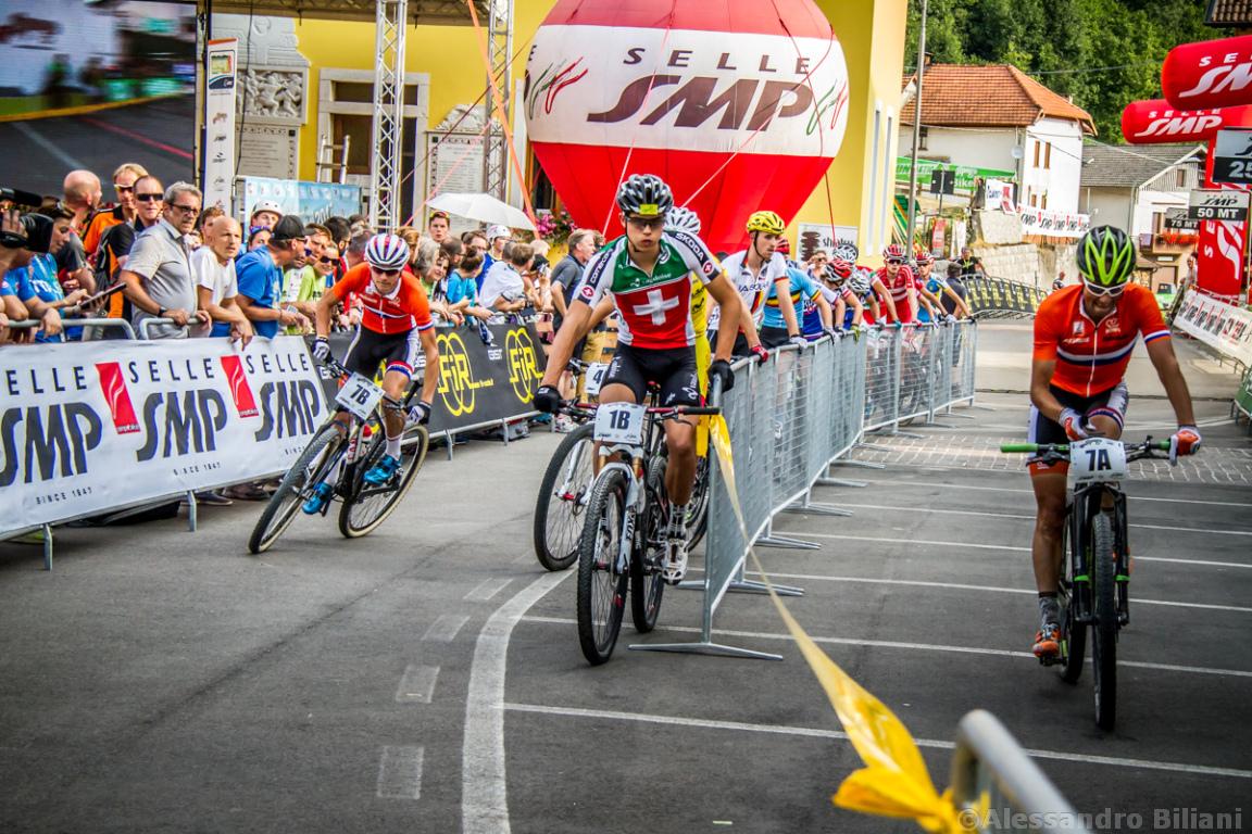 Mistrzostwa Europy MTB 2015 Chies d'Alpago Włochy szrtafeta 013