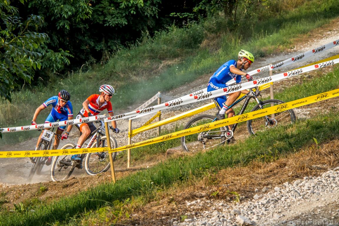 Mistrzostwa Europy MTB 2015 Chies d'Alpago Włochy szrtafeta 014