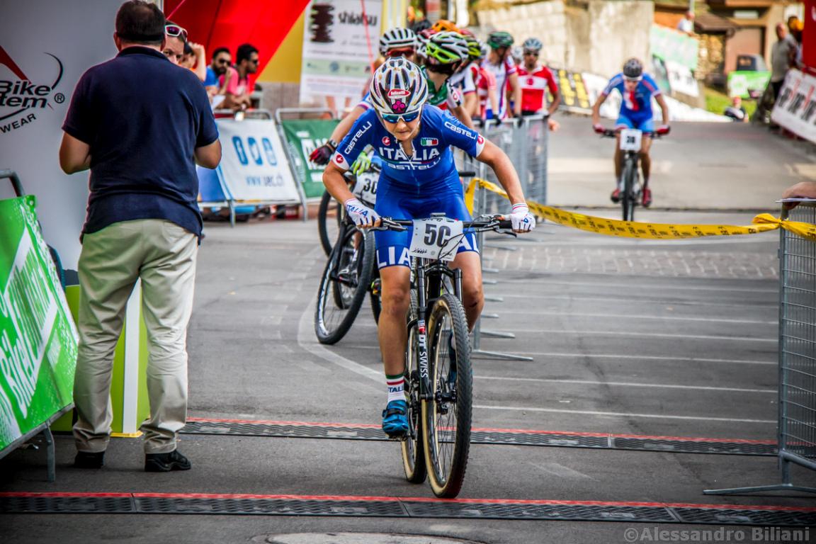 Mistrzostwa Europy MTB 2015 Chies d'Alpago Włochy szrtafeta 018