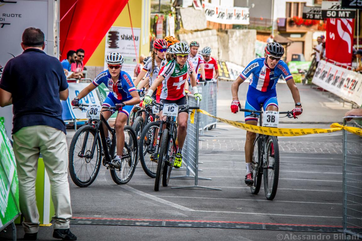 Mistrzostwa Europy MTB 2015 Chies d'Alpago Włochy szrtafeta 019